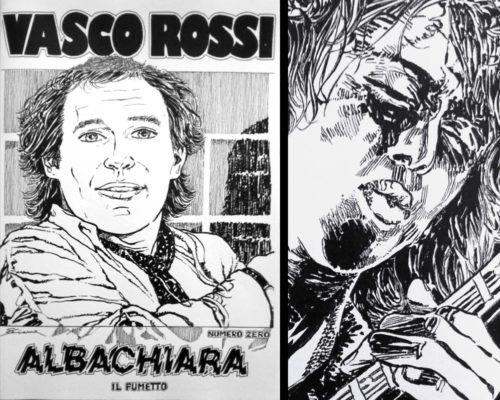 Vasco Rossi, il fumetto di Marco Sciame