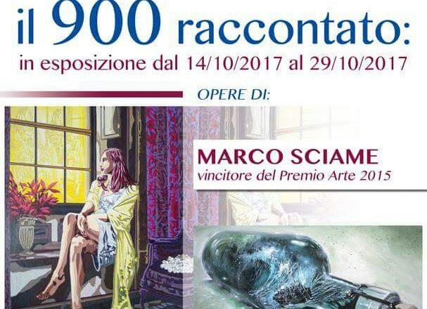 Marco Sciame in mostra a Taranto - ottobre 2017