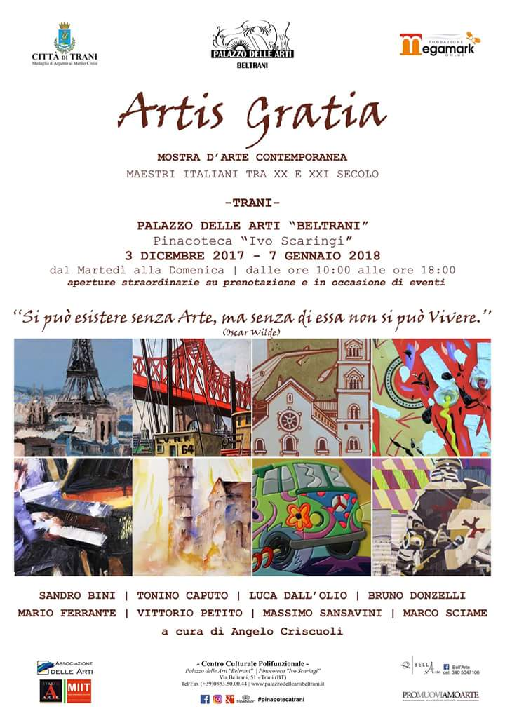 Artis Gratia - Trani - Mostra Collettiva