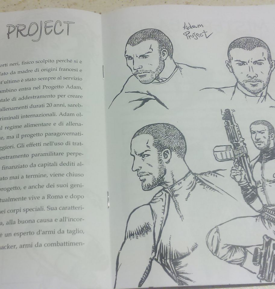 Adam Project - Humans end - Marco Sciame