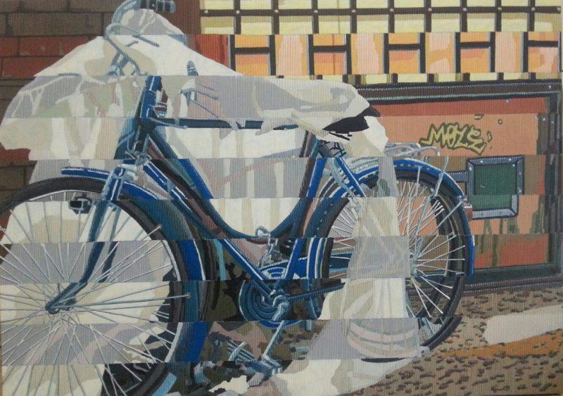 Bici velate 50x70 - Marco Sciame