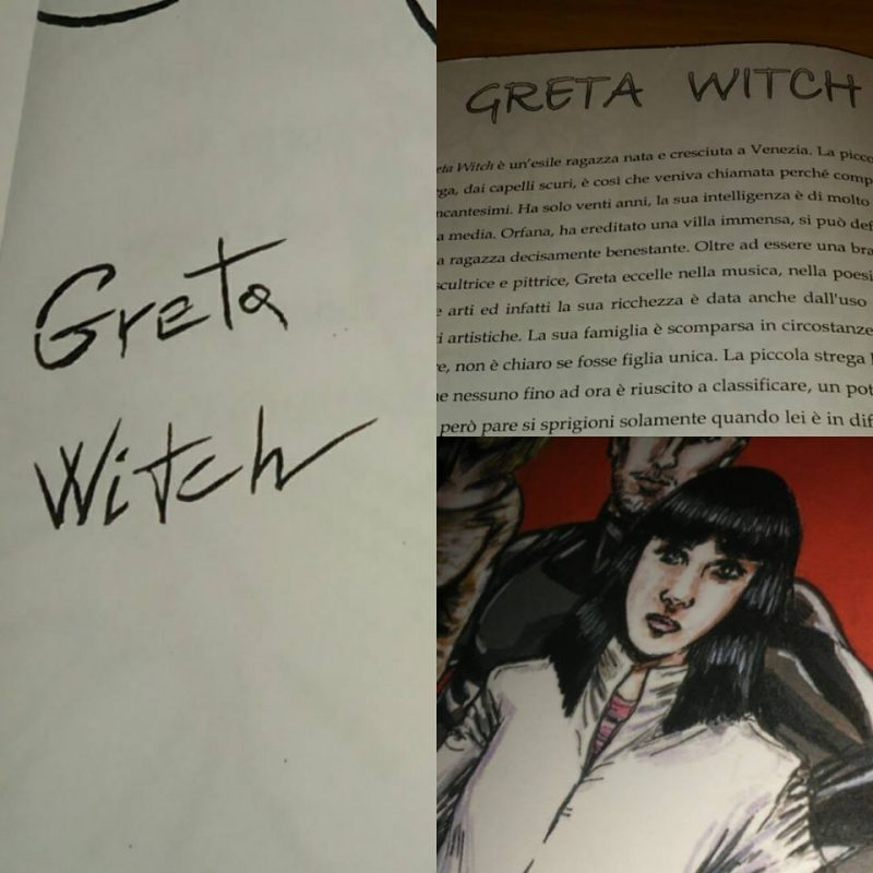 Greta Witch - Humans End - Marco Sciame
