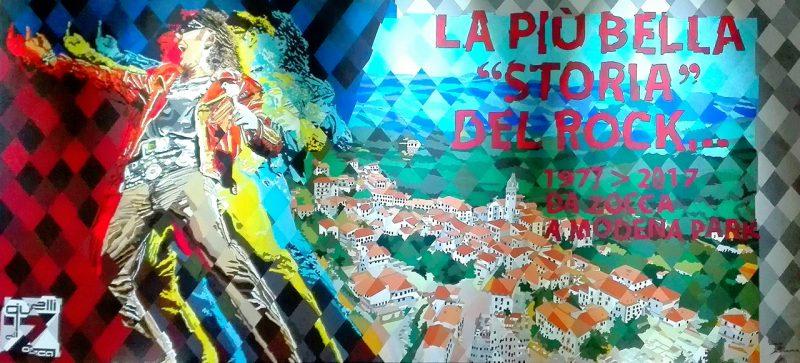 La più bella storia del rock 180x350 - Marco Sciame