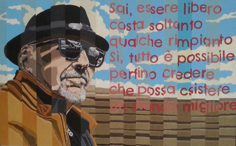 Liberi come credere 50x80 - Marco Sciame