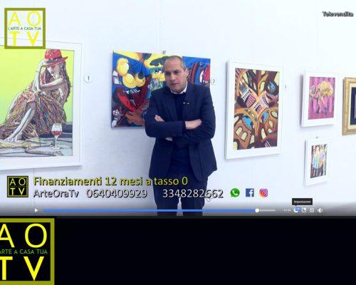 ArteOraTV vende le opere di Marco Sciame