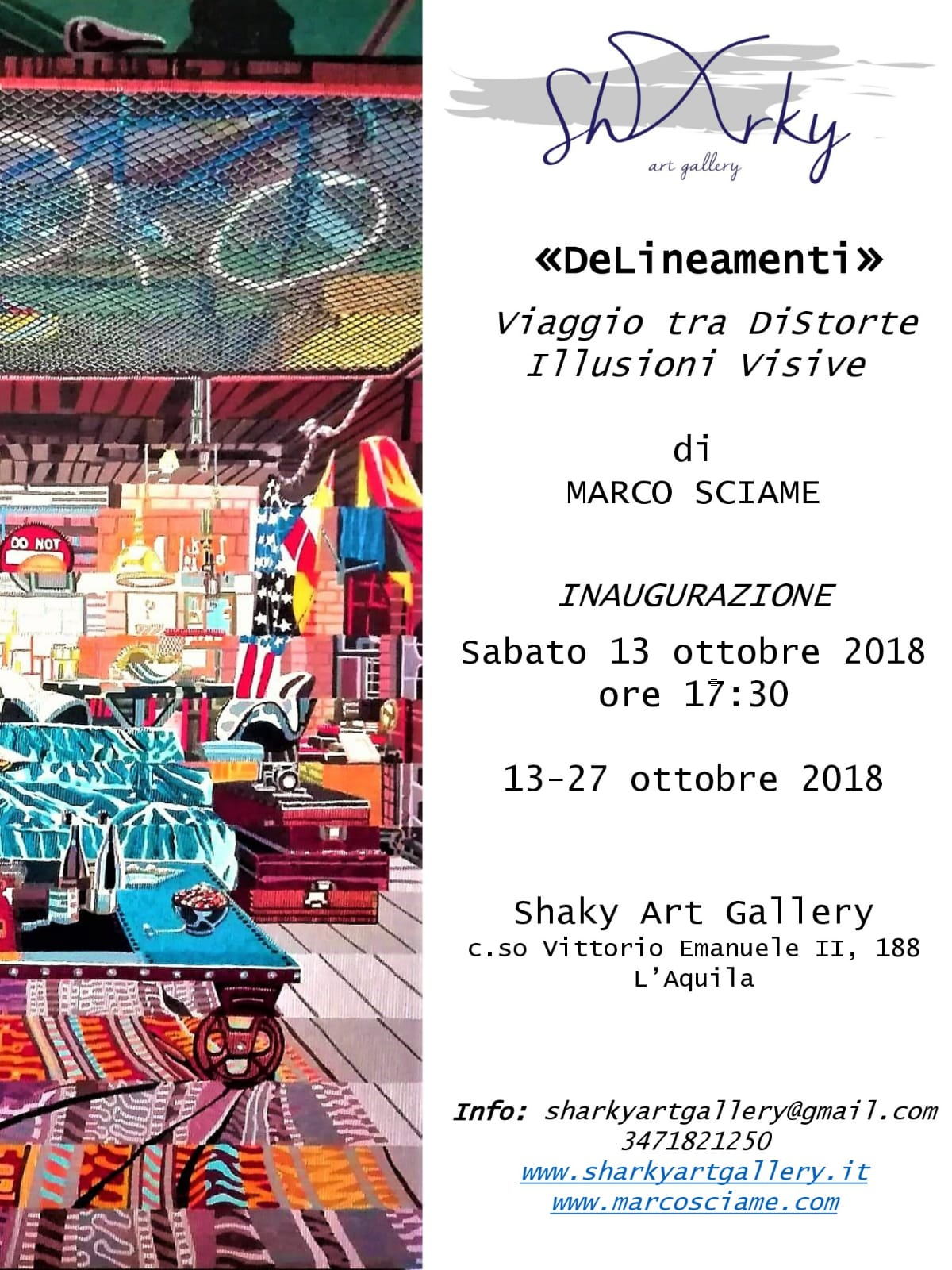 Sharky Art Gallery Marco Sciame